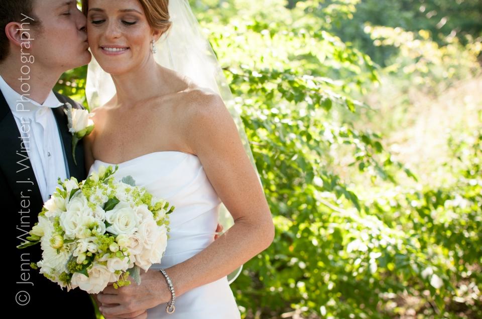 wedding, kenilworth union church, chase heitman, matt martinek, bride and groom, romantic photo, wedding photo