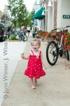 yummies ice cream, baby, toddler, harbor springs, michigan, ice cream, little girl, cute baby, cute little girl, red dress