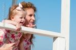 beach, beach photos, mother and child, mother and daughter photographs, portrait, matching pajamas, bead head pajamas
