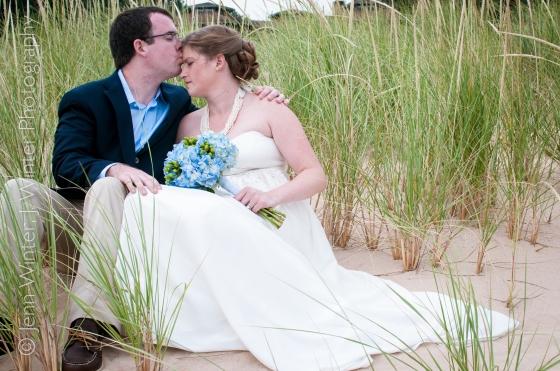 beach wedding, wedding, michigan, destination, romantic