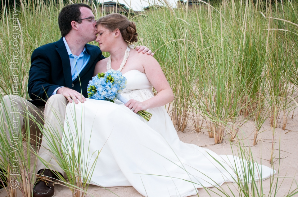 beach wedding, wedding, michigan, destination, romantic